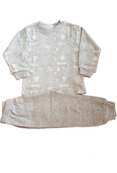 İpeksi Baby 2004 Ormanlı Pijama 2'li Takım