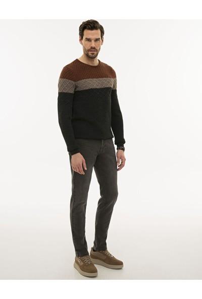 Pierre Cardin Erkek Füme Slim Fit Denim Pantolon 50227647-VR058