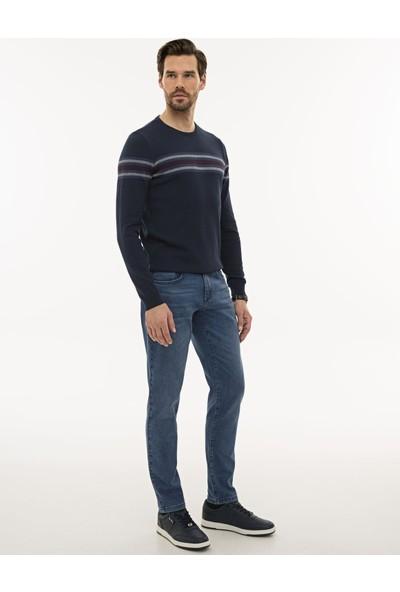 Pierre Cardin Erkek Mavi Slim Fit Denim Pantolon 50232197-VR036