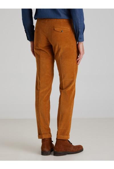 Dufy Safran Fitilli Erkek Pantolon Modern Fit
