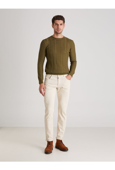 Dufy Taş Şantuklu Erkek Pantolon Modern Fit