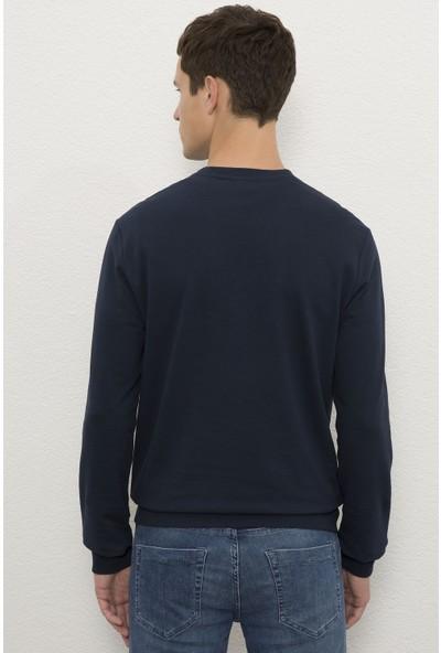 U.S. Polo Assn. Erkek Lacivert Sweatshirt Basic 50225481-VR033
