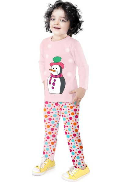 Oulabimir Uzun Kollu Pijama Baskılı Çocuk Kıyafeti
