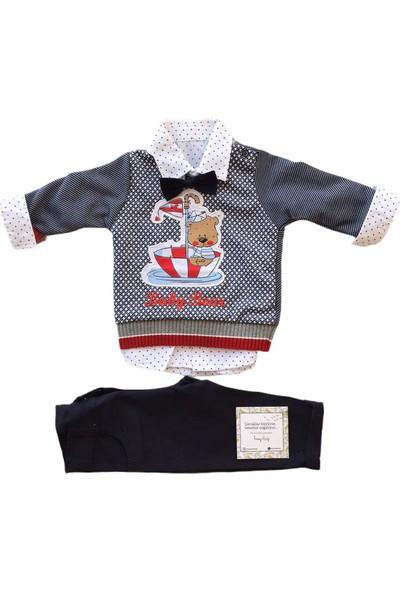 Consept Baby 3Lü Gömlekli Papyonlu Erkek Bebek Takım