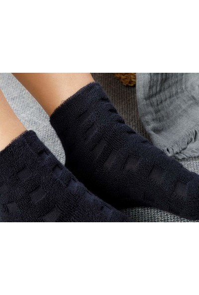 English Home Towel Pamuk Polyester Çorap Standart Lacivert