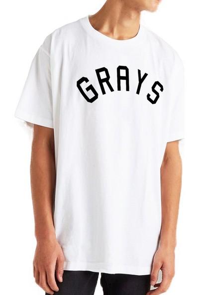Mack Erkek Grays Beyaz Erkek T-Shirt