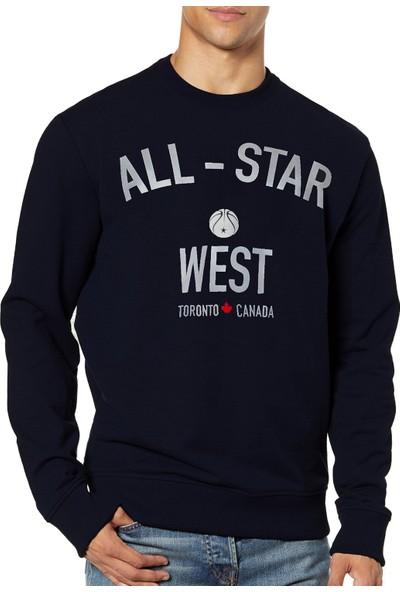 Mack Erkek All-Star West Siyah Sweatshirt