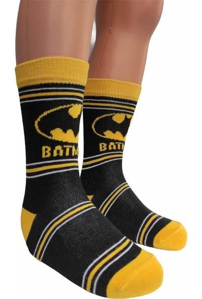 Çimpa Batman Erkek Çocuk Çorabı