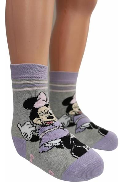 Çimpa Minnie Mouse Kız Çocuk Çorabı