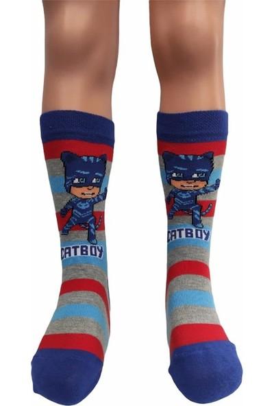 Çimpa Pj Masks Erkek Çocuk Çorabı
