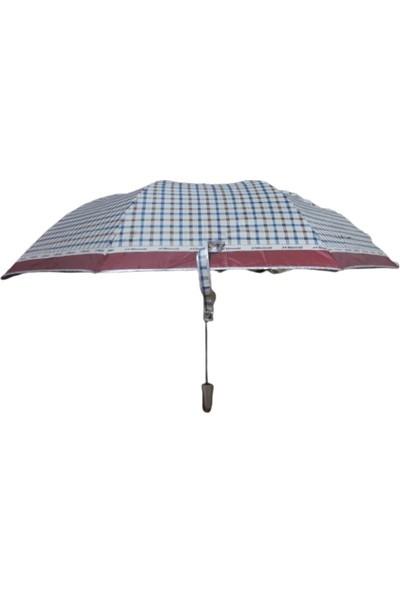 Kadın Yağmur Şemsiye Burberry Desen