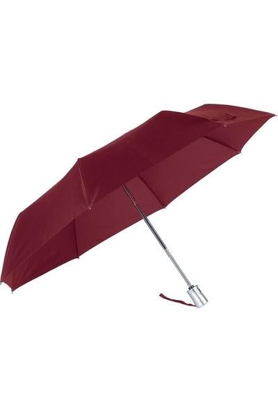 Katlanabilir Kadın Yağmur Şemsiye Tam Otomatik