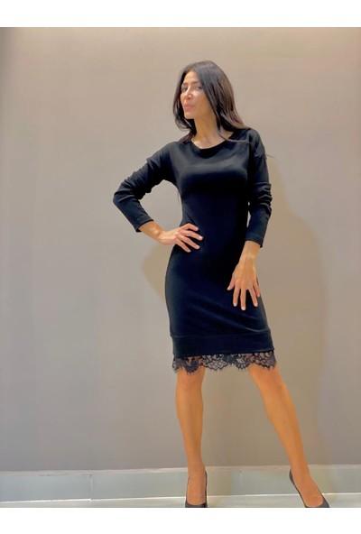 Femme Kadın Elbise Siyah