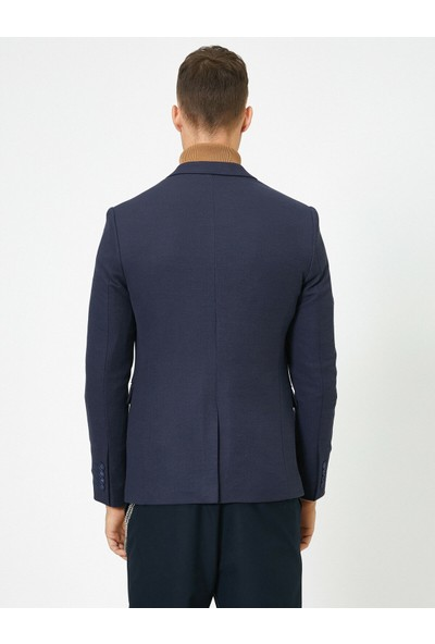 Koton Erkek Dügme Detaylı Ceket