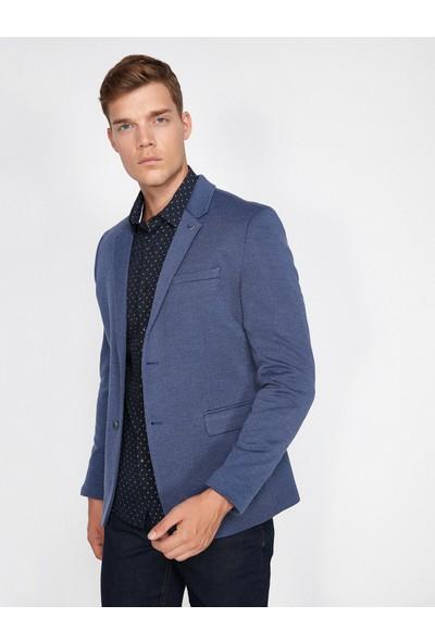 Koton Erkek Cep Detaylı Blazer Ceket