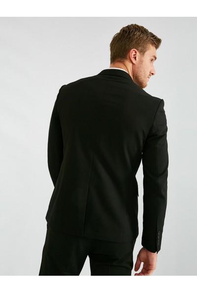 Koton Erkek Cep Detaylı Blazer