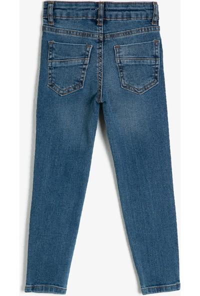Koton Erkek Çocuk Normal Bel Cepli Jean Pantolon