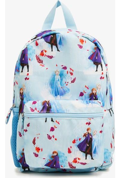 Koton Kız Çocuk Frozen Lisansli Baskılı Sirt Çantası