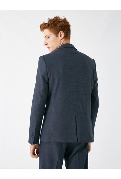 Koton Erkek Cep Detaylı Düğmeli Blazer