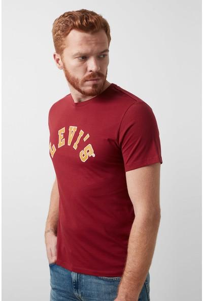 Levi's Baskılı Bisiklet Yaka T-Shirt Erkek 22491