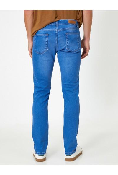 Koton Erkek Slim Cepli Skinny Jean