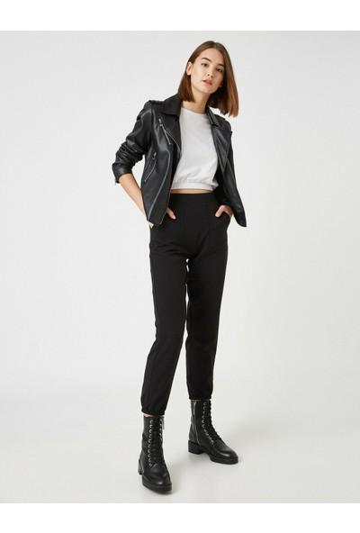 Koton Kadın Yüksek Bel Jogger Pantolon
