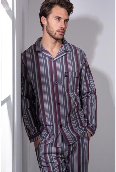 Ayyıldız Erkek Yakalı Pijama Takımı 54783