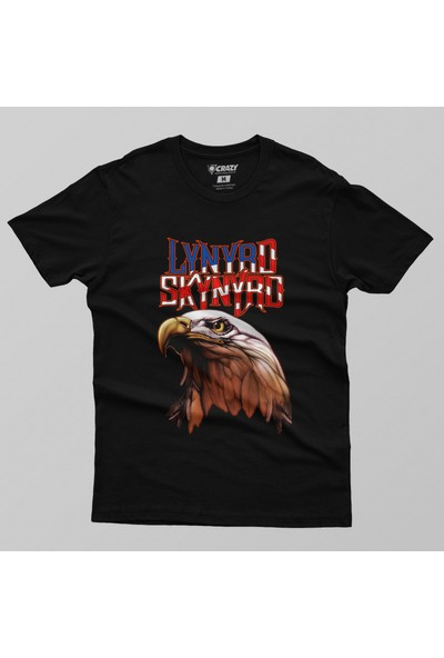 Crazy Lynyrd Skynyrd America Rock Music Erkek Tişört