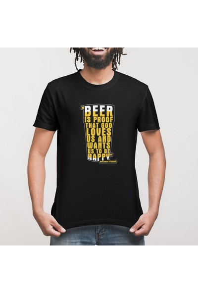 Crazy Beer Is Proof Erkek Tişört