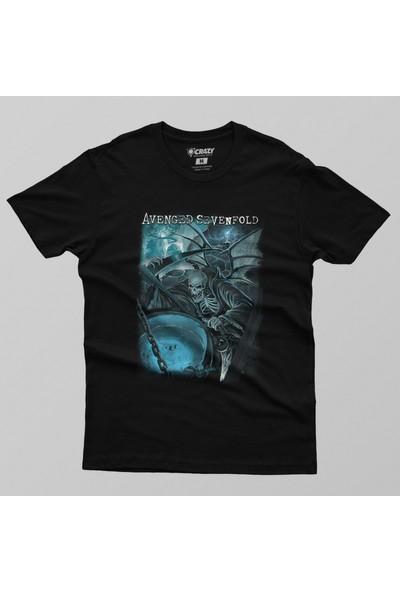Crazy Avenged Sevenfold: Oracle Erkek Tişört