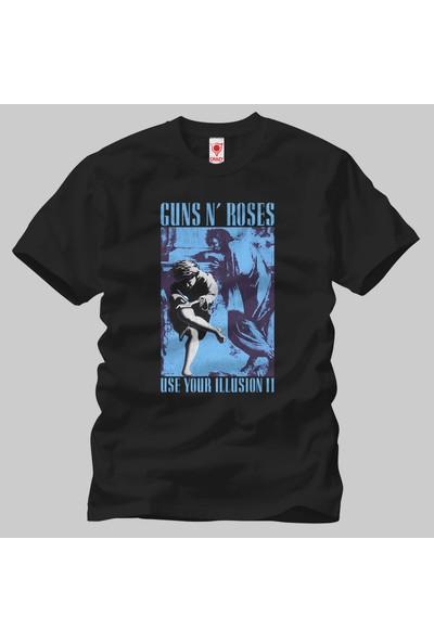 Crazy Guns N Roses: Use Your Illusion Tour 1991 Erkek Tişört