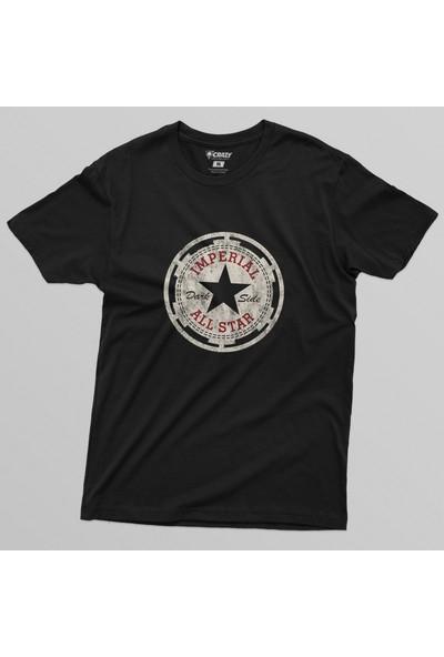 Crazy Star Wars Imperial Allstar Erkek Tişört