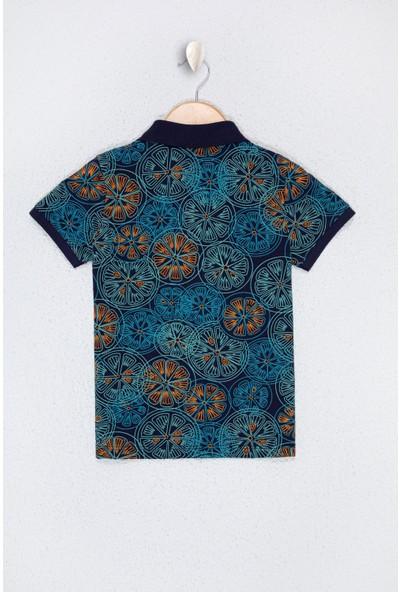U.S. Polo Assn. Erkek Çocuk Lacivert T-Shirt 50218997-VR033