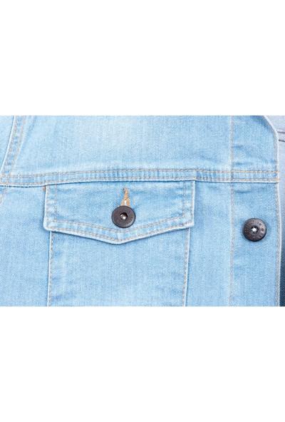 Serseri Jeans Açık Mavi Erkek Kot Ceket S