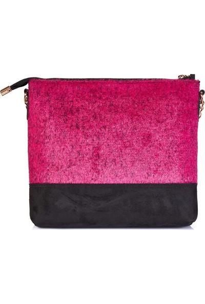 BloominBag Pinky Fluffy Çapraz Askılı Çanta