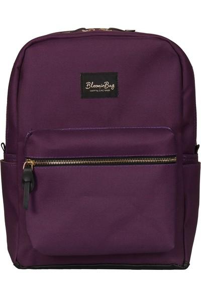 BloominBag Blackberry Wine 13-14 Inch Sırt Laptop / Macbook Çantası