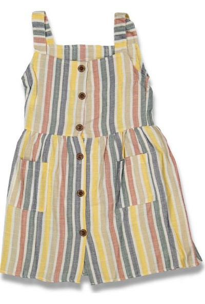 Eyser Gökkuşağı Kız Bebek Çocuk Elbise