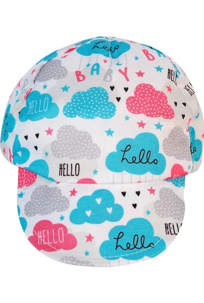 Civil Baby Kız Bebek Şapka 0-18 Ay Beyaz