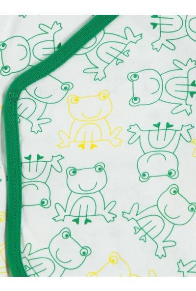 Albimini Erkek Bebek İç-Dış Zıbın Takımı Yenidoğan Yeşil