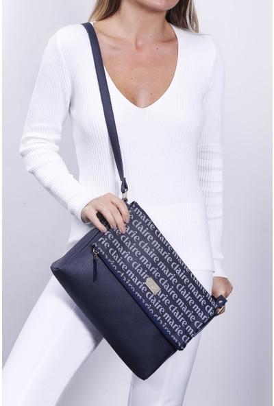 Marie Claire Lacivert Kadın Postacı Çantası Bianca Mc212103097