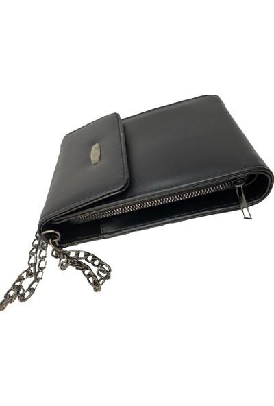 David Rossi Askılı Telefon Bölmeli Çapraz Çanta