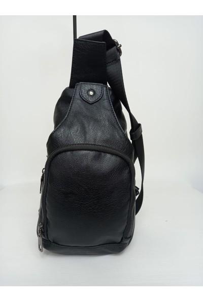 Kri̇ste Bell Kriste Bell Siyah Deri Kadın Çapraz Sırt Çanta