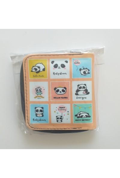 Köstebek Panda Cüzdan