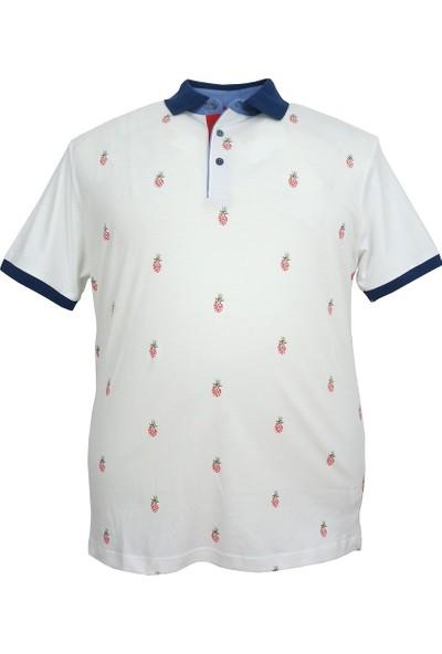 Rugatchi Büyük Beden Erkek Rugatchi Likralı Polo Yaka Tişört