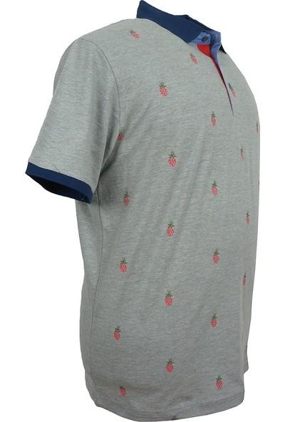 Rugatchi Büyük Beden Likralı Polo Yaka Tişört Rugatchi Wear