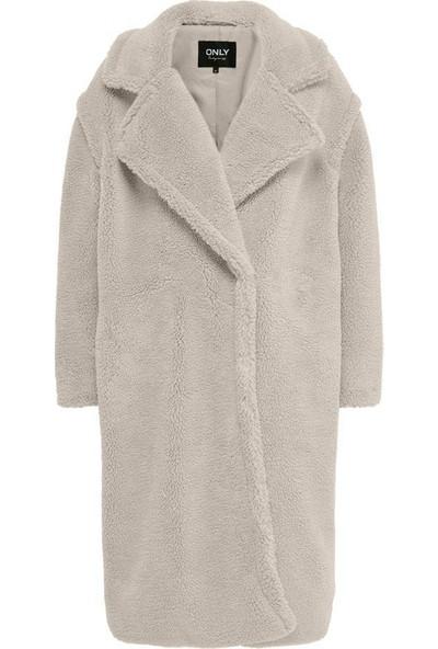 Only Onlevelin Long Teddy Coat Otw Kadın Kaban