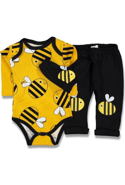 Necix's Erkek Bebek Arılı Body ve Pantolonlu Takım