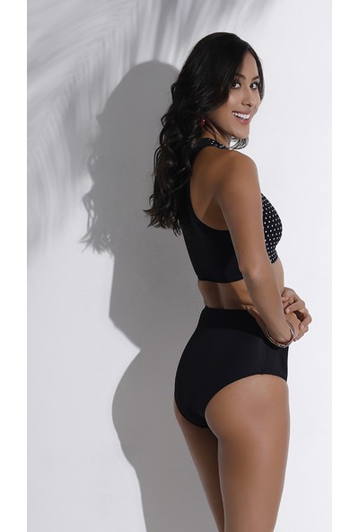 Aquaviva Kadın Puantiyeli Halter Bikini Takımı