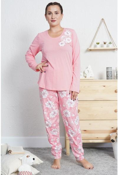 Vienetta Kadın Büyük Beden Pijama Takımı