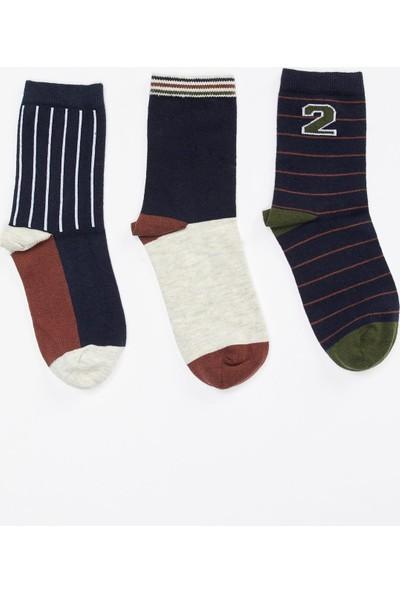 Defacto Erkek Çocuk 3'lü Uzun Çorap